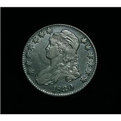1830-p Capped Bust Half Dollar grades Very Fine  VF25