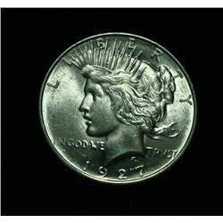 1927-d Peace Dollar $1 Grades Choice Uncirculated ms64