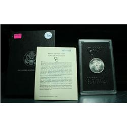 ***RARE   DMPL  GSA 1884-CC Morgan Dollar in the Original Box with the COA.  Grades ms64 DMPL