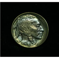 1913-p TY II Buffalo Nickel 5c Grades Choice Uncirculated ms64