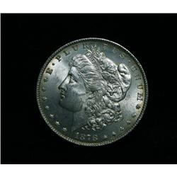 1878-p 8TF Morgan Dollar Grades Choice Uncirculated ms64  Tripled Stars!  VAM 16