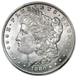 1880 UNC Morgan SIlver Dollar