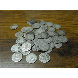 (50) Barber Dimes- Circulated