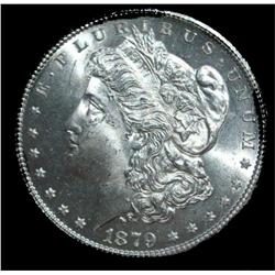 1879 S UNC Morgan Silver Dollar