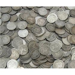 (100) Morgan Silver Dollars - ag-vg Plus