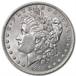 1884 UNC Morgan Silver Dollar