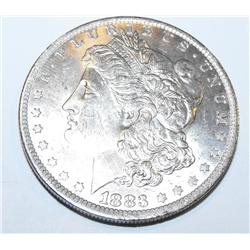 1883o unc Morgan Silver Dollar