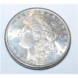 1881s ms63 Morgan Silver Dollar