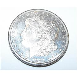 1881s dmpl Morgan Silver Dollar
