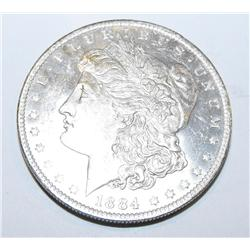 1884o ms-64 pl-rv Morgan Silver Dollar