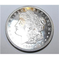 1921p ms65 Morgan silver Dollar