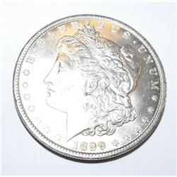 1899o ms60 Morgan Silver Dollar