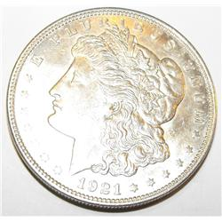1921p ms61 Morgan Silver Dollar