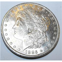 1885o bu Morgan Silver Dollar