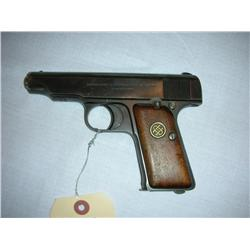 Deutsche Werke 7.65 mm Semi-Automatic Pistol.Germany.  SN# 67051.  RARE.