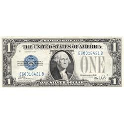 $1 FUNNY BACK SILVER CERTIFICATE 1928