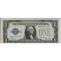 $1 FUNNY BACK SILVER CERTIFICATE 1928 B