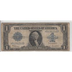 $1 1923 LARGE SILVER CERTIFICATE