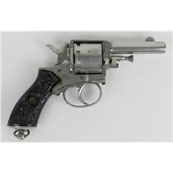 Belgian Double Action Revolver