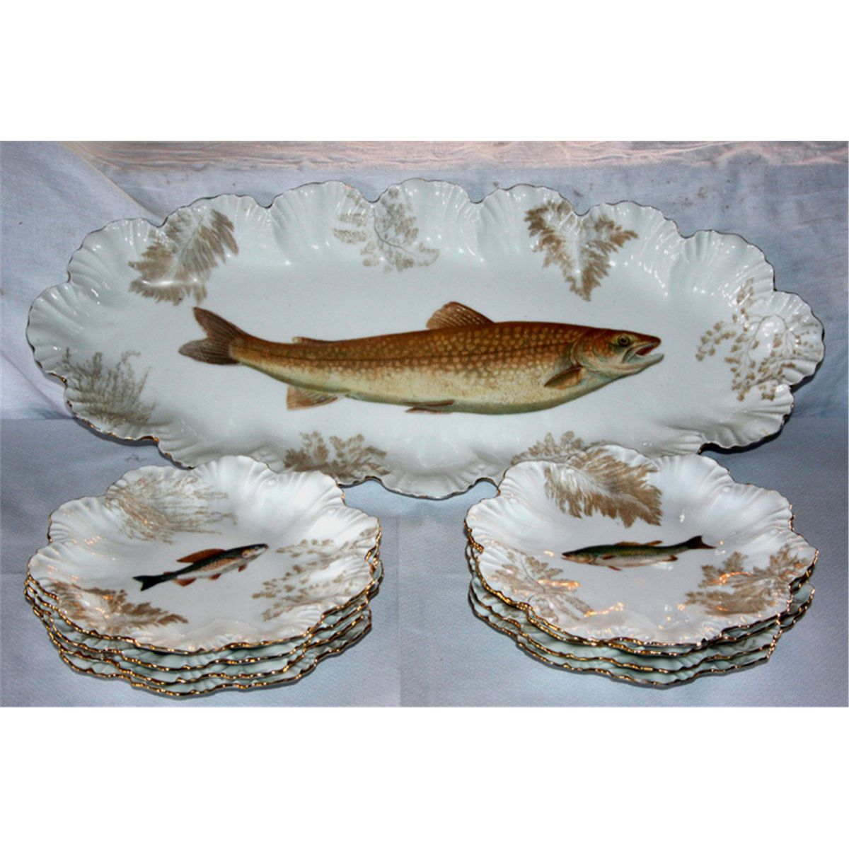 sc 1 st  iCollector.com & Limoges - Fish Plates