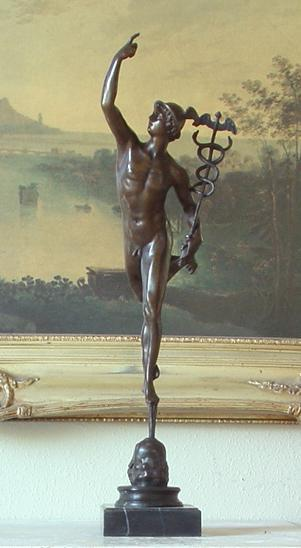 Mercury Sculpture Bronze sculpture mercury &