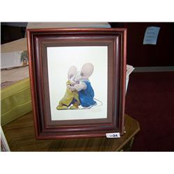 Leonard Filgate.  You're All Right  Ltd. Ed. Giclee 92/195 H/S Gallery Framed.
