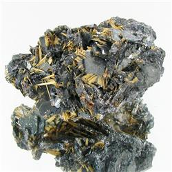 160ct Hematite With Rutile Crystals (MIN-000338)
