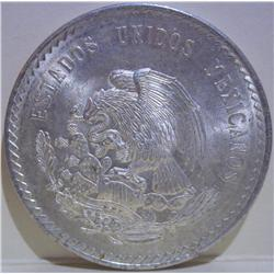 Cinco Pesos Mexican Coin Silver
