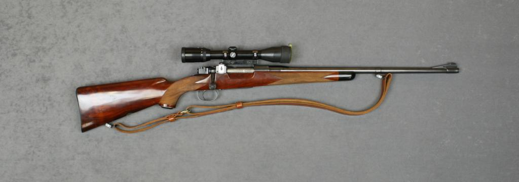 custom high grade hunting bolt action rifle by griffin howe 308