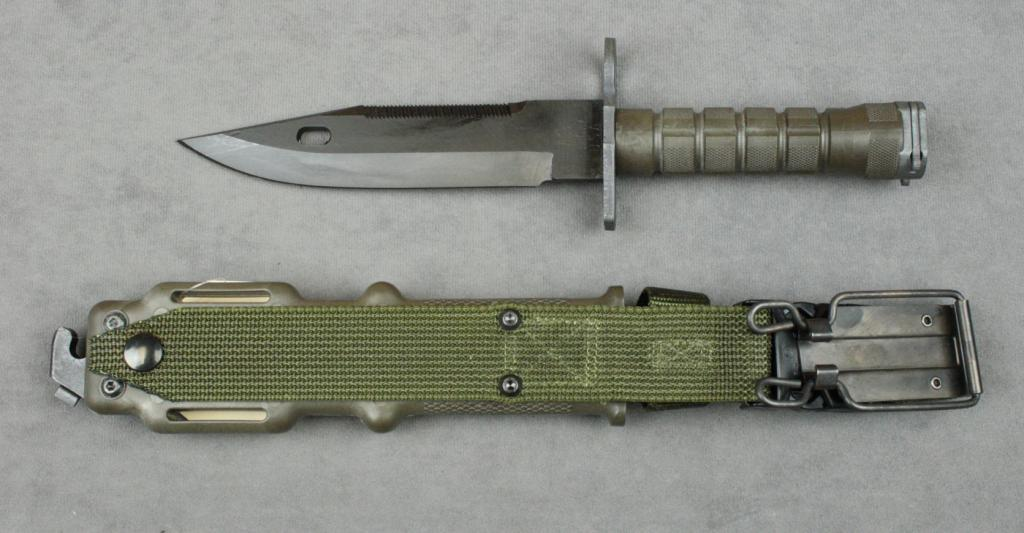 U S Military M9 Bayonet By Lan Cay With Composite Sheath