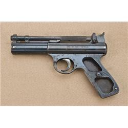 Webley Senior .22 caliber spring-action air  pistol, serial #205. Prewar manufacture, good  conditio
