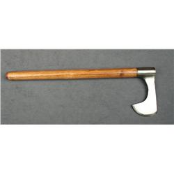 Commemorative Lewis and Clark Expedition axe  with wood shaft produced in 2005 to celebrate  the 200