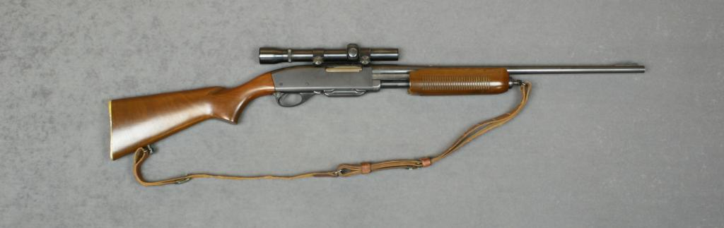 Remington Model 760 Gamemaster pump action rifle, .30-06 ...