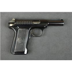 "Savage Model 1907 semi-auto pistol, .32 cal.,  3-3/4"" barrel, blue finish, checkered Savage  Indian"