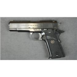 "Llama semi-auto pistol, .38 Super cal.,  4-1/4"" barrel, black finish, Pachmayr Sure  Grip hard rubbe"