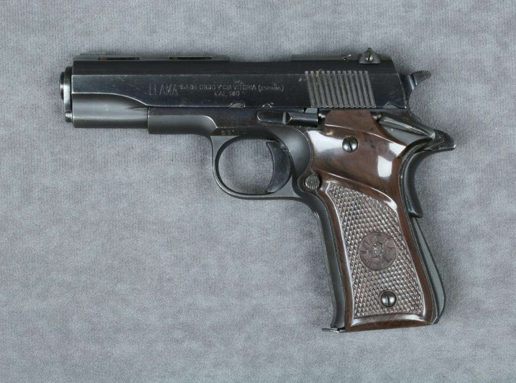 Llama .380 caliber semi-automatic pistol made in Spain with no ...