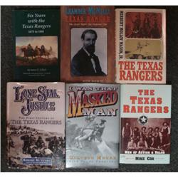 6 Western Books Texas Rangers Lone Star Masked Man