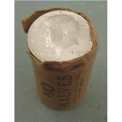 1 Gem UNC Orig Bank Wrapped Roll 1964-P Kennedy Halves