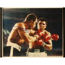 "Ken Norton Signed Photo 14""x11"" w/ Muhammad Ali COA"