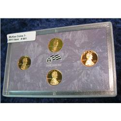 661. 2009 S Proof Lincoln Cent Varieties in