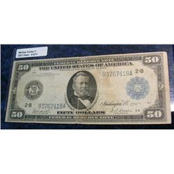 671. Series 1914 $50 Federal Reserve Note