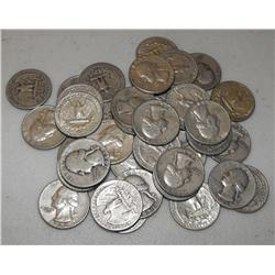 Lot of 50 Washington Quarters
