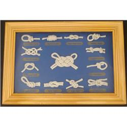 5X7  FRAMED NAVAL/FISHERMAN'S KNOTS