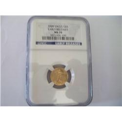 2009 NGC Proof-70 $5 Golden Eagle, Early Release