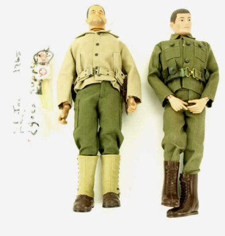 Vintage Gi Joe Doll 91