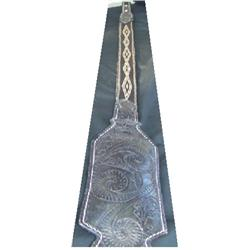 Hitched horse hair rifle sling