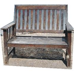 Old oak bench