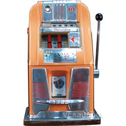 "10 Cent Mills Hi-Top ""Horseshoe"" Jackpot Slot Machine"