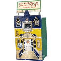 5 Cent Countertop Vintage Wood House Shape View Arcade