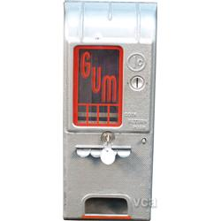 "1 Cent Wall Mount Metal ""TAB GUM"" 4-Column Vending Mach"